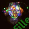 Kép 2/9 - Led Borosüveg dugó, színes