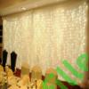 Kép 6/7 - Led fényfüggöny 306 Led-es, 3x3 méter, meleg fehér, 8 program