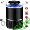 Kép 7/10 - Szúnyog és rovarírtó Led lámpa, elektromos, UV fénnyel, USB töltő