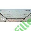 Kép 5/6 - Kültéri színes dekorációs retro fényfüzér, összekapcsolható, vízálló, 10xE27 foglalat, 12 méter