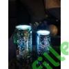 Kép 3/5 - Ezüst világító üvegdekoráció, kicsi