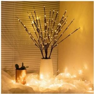 LED faág dekoráció, Elemes