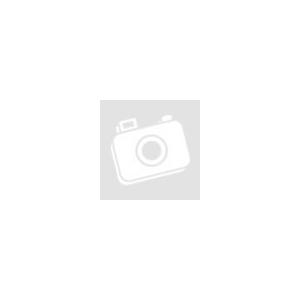 Karácsonyi plüss díszpárna beépített LED világítással, Mikulás, elemes