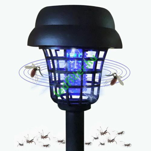 Napelemes szúnyog, - és rovarirtó, kerti led lámpa