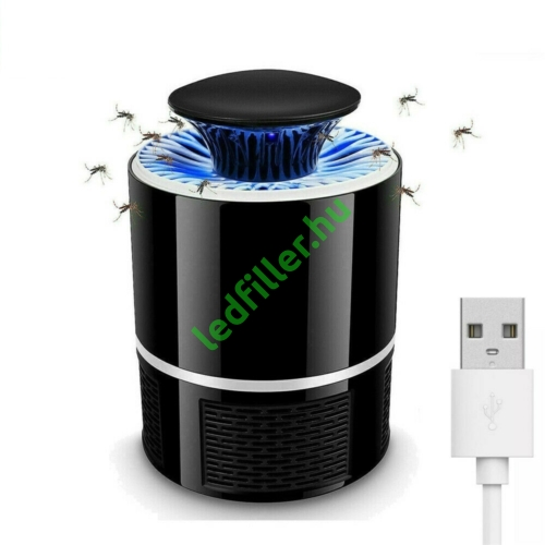 Szúnyog és rovarírtó Led lámpa, elektromos, UV fénnyel, USB töltő