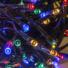 Kép 1/3 - Beltéri led fényfüzér, 160 égős, színes, 8 programos