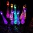 Kép 1/9 - Napelemes LED fényfüzér, vízcsepp alakú, színes