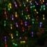 Kép 6/11 - Napelemes LED fényfüzér, vízcsepp alakú, színes, 8 funkciós, kültéri