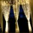 Kép 2/7 - Led fényfüggöny 306 Led-es, 3x3 méter, meleg fehér, 8 program