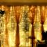 Kép 3/7 - Led fényfüggöny 306 Led-es, 3x3 méter, meleg fehér, 8 program