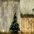 Kép 5/7 - Led fényfüggöny 306 Led-es, 3x3 méter, meleg fehér, 8 program