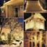 Kép 7/7 - Led fényfüggöny 306 Led-es, 3x3 méter, meleg fehér, 8 program