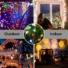 Kép 6/9 - Napelemes 200 LED-es színes dekorációs fényfüzér, kerti égősor