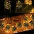 Kép 4/6 - Arany gömb LED fényfüzér