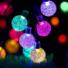 Kép 3/9 - Napelemes Led fényfüzér,  esőcsepp, színes, 8 funkciós, kültéri