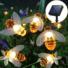 Kép 5/8 - Napelemes 20 Ledes Méhecske fényfüzér