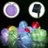 Kép 7/8 - Napelemes 10 Led-es  színes Lampion fényfüzér