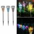 Kép 2/10 - Napelemes földbe szúrható mozaik Led lámpa, 3 db-os készlet