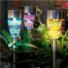 Kép 4/10 - Napelemes földbe szúrható mozaik Led lámpa, 3 db-os készlet