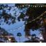 Kép 6/6 - Kültéri színes dekorációs retro fényfüzér, összekapcsolható, vízálló, 10xE27 foglalat, 12 méter