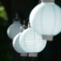 Kép 1/9 - Világító led lampion 20 cm-es, 2 db elemmel, 3 db készlet