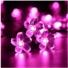 Kép 1/5 - Napelemes Led cseresznyevirág fényfüzér, rózsaszín színű, kültéri