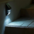 Kép 6/7 - Falra szerelhető, mozgásérzékelős, rozsdamentes acél lámpa